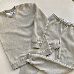 Organic Cotton Unisex Jogger Sweat - Heather Grey