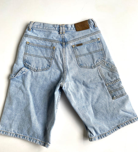 Lightwash Calvin Klein Carpenter Denim Shorts