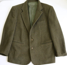 Load image into Gallery viewer, Sisley heather green wool blazer