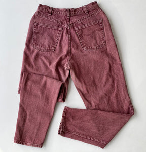 Plum acid wash Levi's