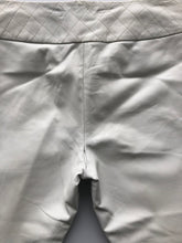 Load image into Gallery viewer, caché white leather pants - as is