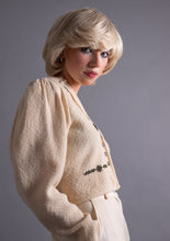 Load image into Gallery viewer, Lanamoden Austrian cropped knit cardigan