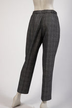 Load image into Gallery viewer, Grey windowpane check trouser