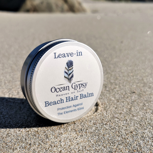 Ocean Gypsy Leave-in Beach Hair Balm, Frizz Free & Nourishing - Nutrition by Nature