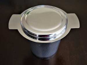 Stainless Steel Tea/Coffee Strainer - Nutrition by Nature