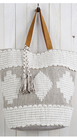 Neutral Beach Tote