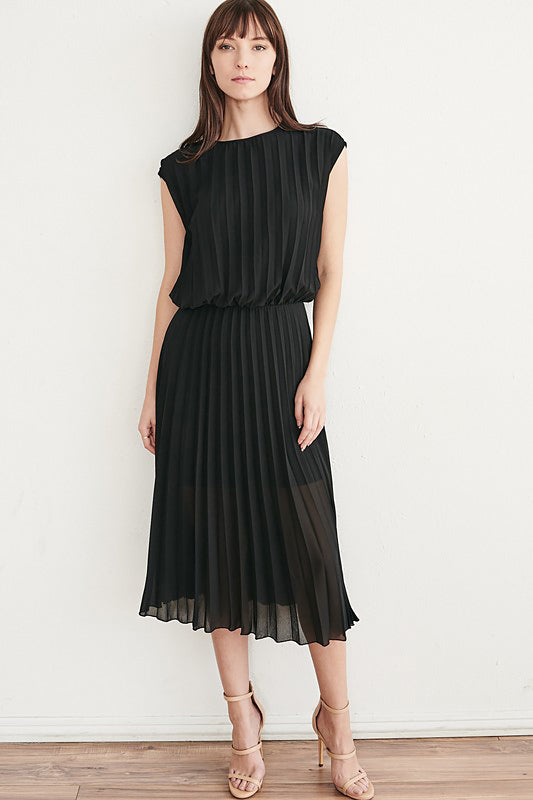 Sooh Pleated Dress - J.MIKA