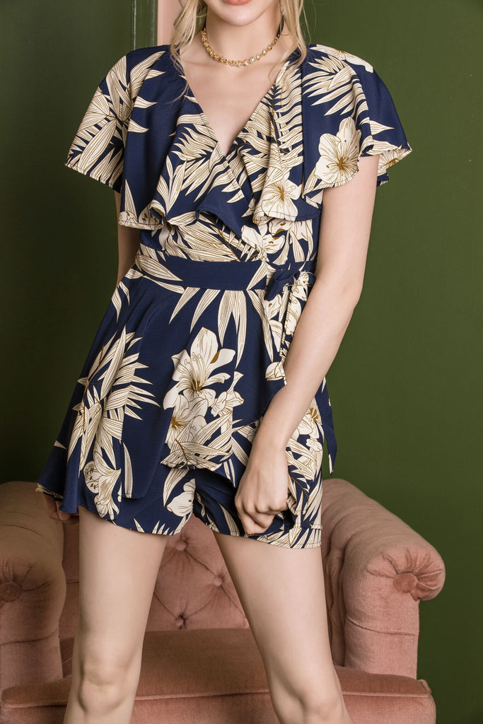 Flower Cape Romper - J.MIKA