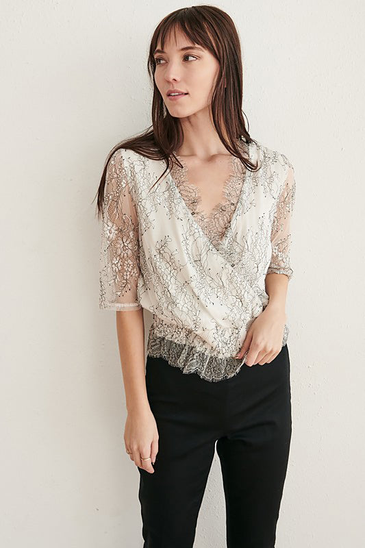 Jess Lace Top - J.MIKA