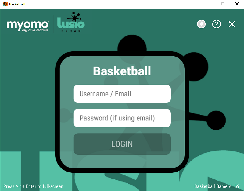 You need an account to login