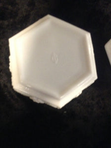 Milk Glass Candy dish w/ Lid