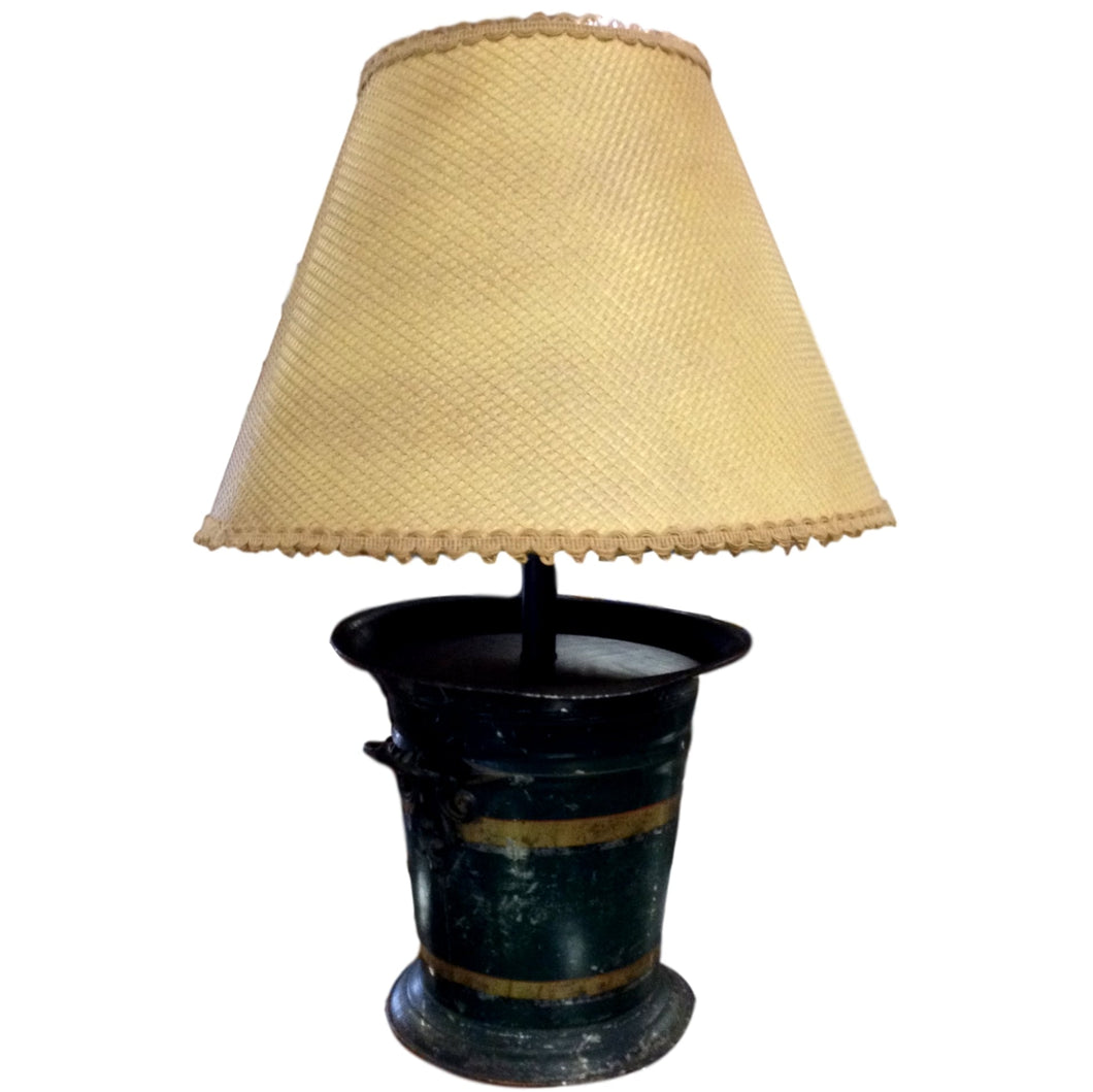 Green Bucket Lamp