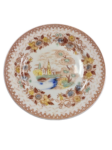 Collectible Hand Painted Dinner Plate
