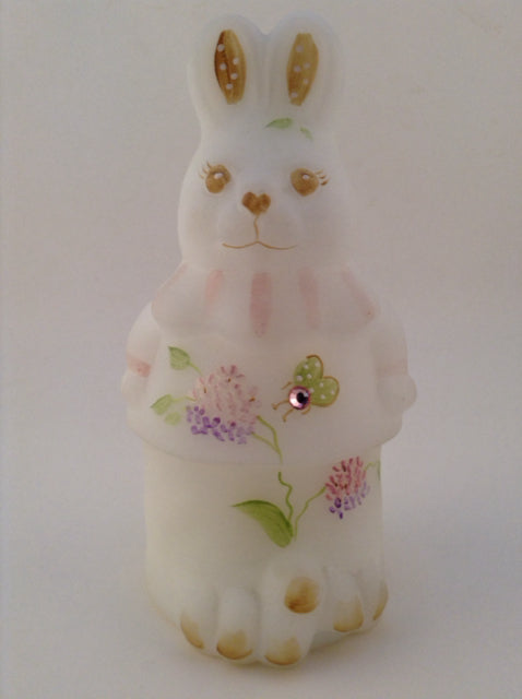 Easter Bunny Figurine with Rhinestone