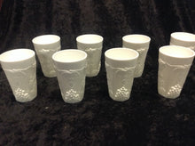 "Load image into Gallery viewer, 4"" Milk Glass Juice Cup - Set of 8 - alabamafurniture"