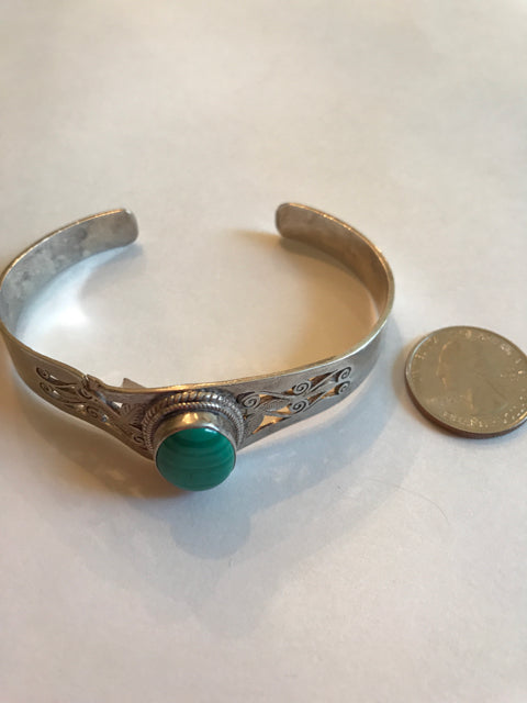 Silver plated bracelet made in Nepal