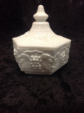 Load image into Gallery viewer, Milk Glass Candy dish w/ Lid