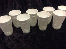"Load image into Gallery viewer, 4 3/4"" Milk Glass Tumbler - Set of 8 - alabamafurniture"