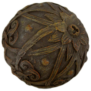 Floral Patterned Decorative Sphere