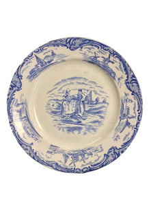 """Old Dutch"" Collectable Plate - alabamafurniture"