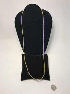 Indian Small Brass Necklace