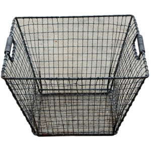 Industrial Vintage Metal Basket