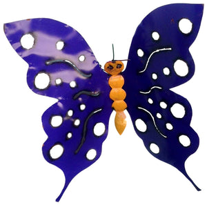 Large Butterfly With Holes