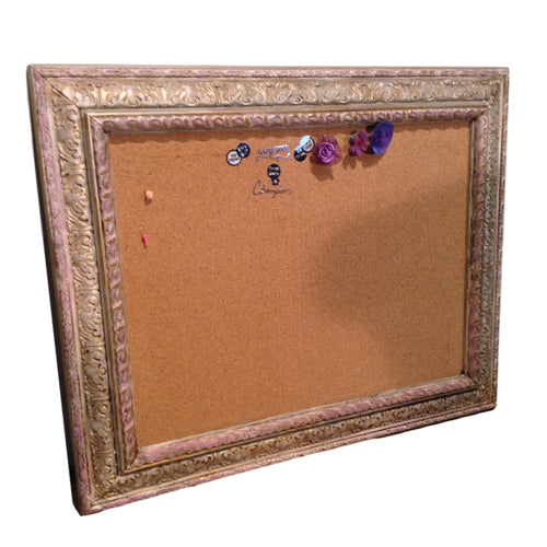 Faux Framed Cork Board