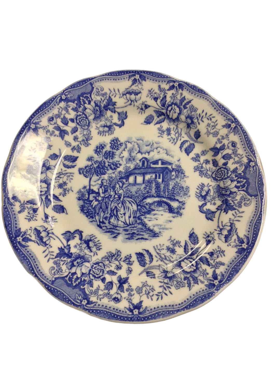 Underglazed Collectable Plate
