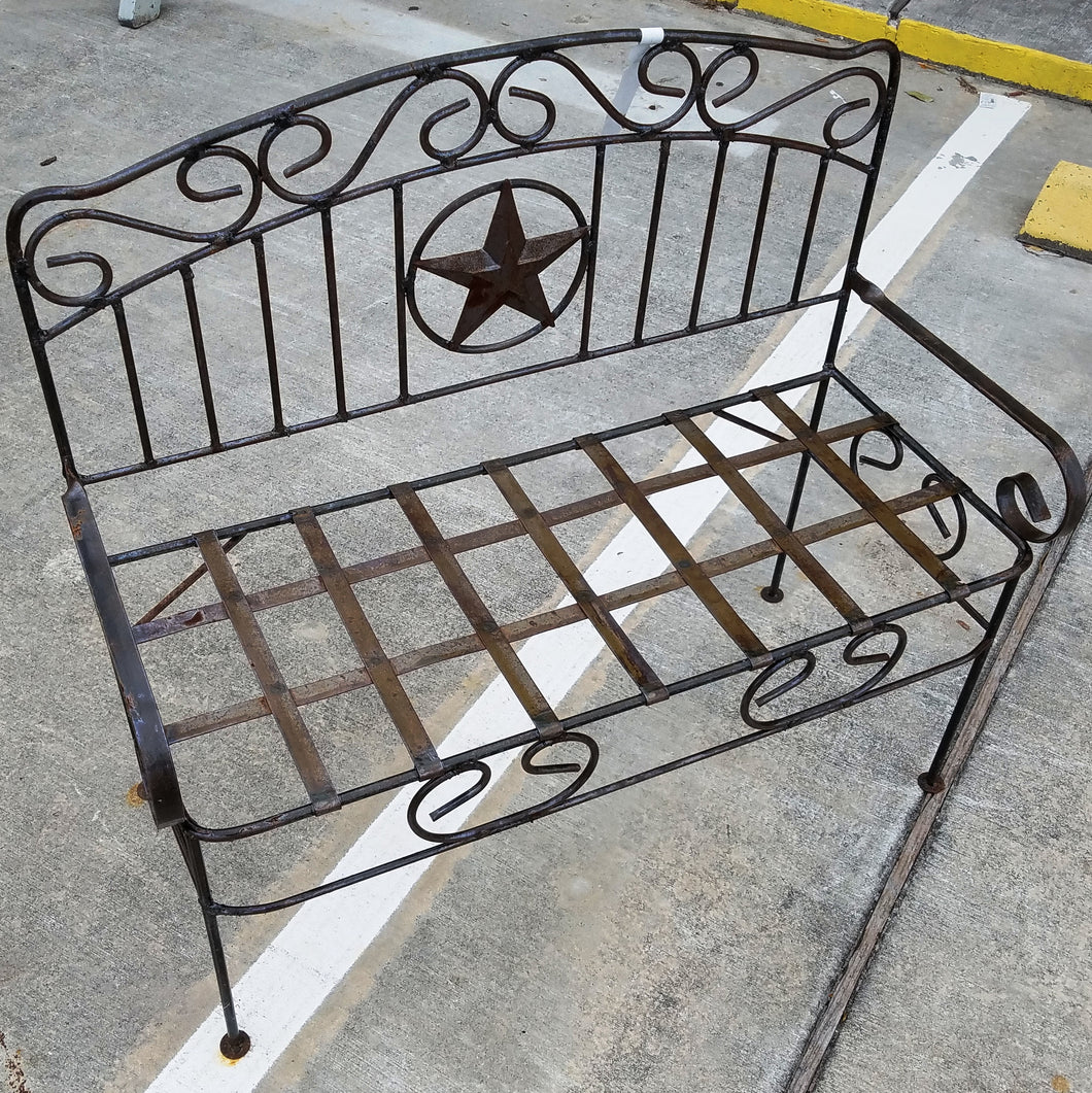 Texas Star Bench