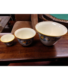 Load image into Gallery viewer, Set of 3 Hand Painted Pots