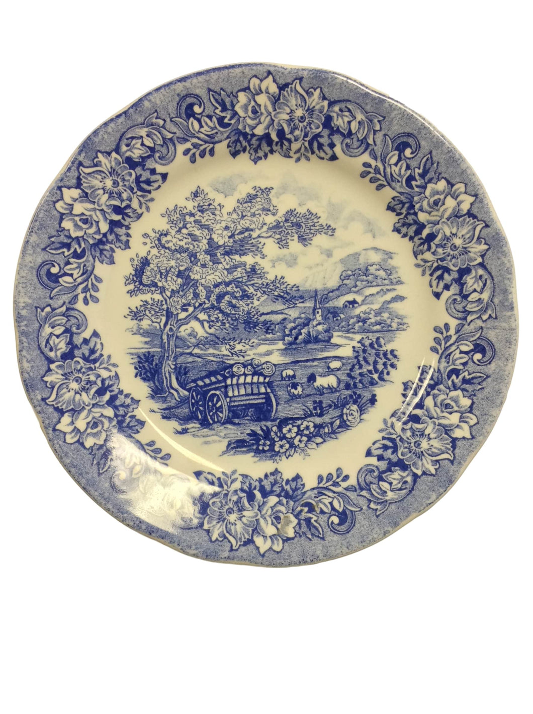 Unglazed Collectable Plate