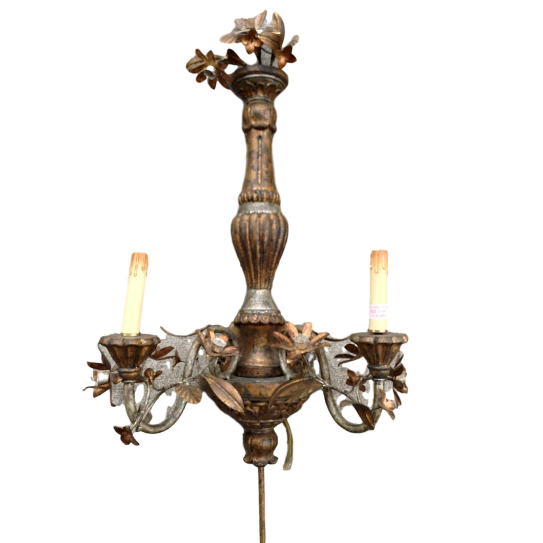 Tall Wall Sconce Pair