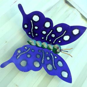 Small Butterfly With Holes