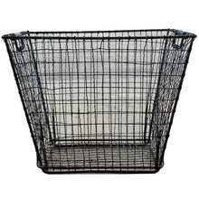 Load image into Gallery viewer, Industrial Vintage Metal Basket