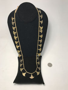 Indian Tribal Brass Necklace - Single Chain