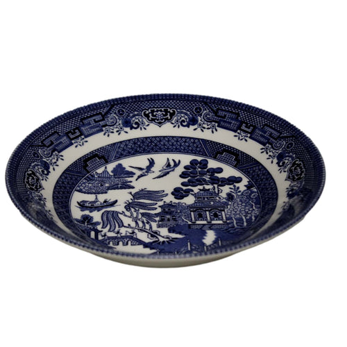 75 PCS Blue Willow China Set