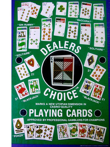 Dealer's Choice Custom Playing Cards