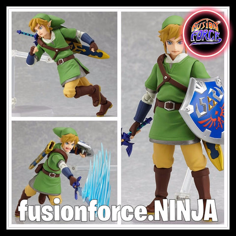 Zelda Skyward Sword: Link Action Figure by FIGMA