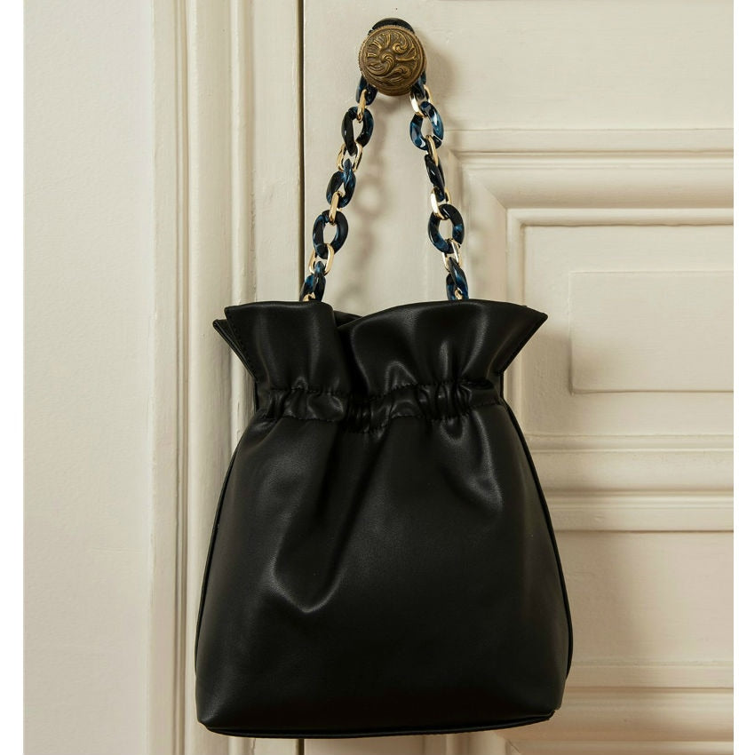 Bucket Classic Leather Purse