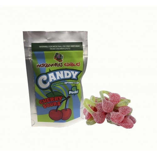 HERBIVORES EDIBLES CHERRY SOURS - The Cannabis Dispensary
