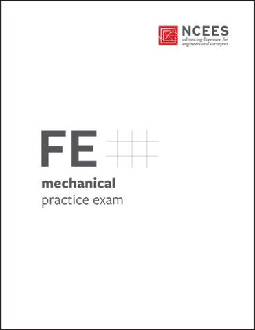 FE Mechanical Practice Exam