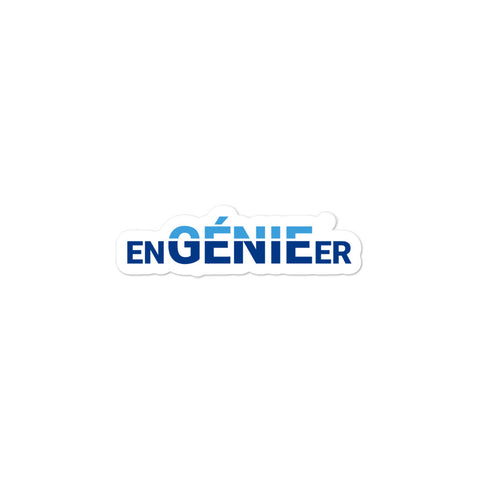 enGENIEer Sticker