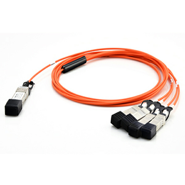 100G QSFP28 TO 4SFP28 Active Optical Cable