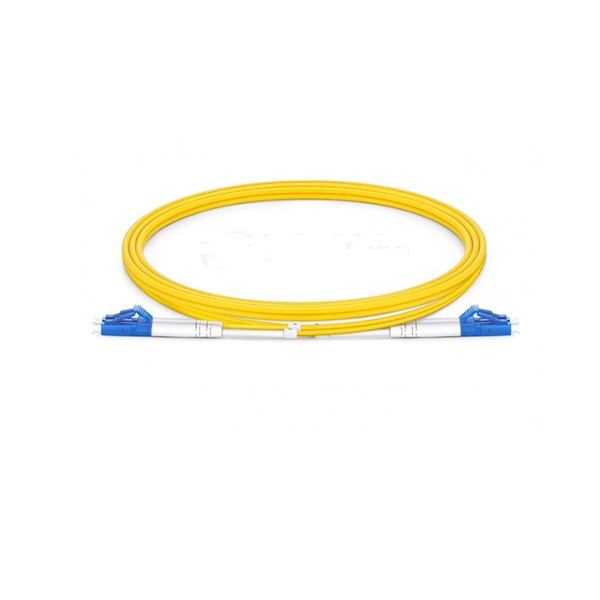 LC to LC UPC Duplex OS 2 2.0mm PVC Fiber Patch Cable