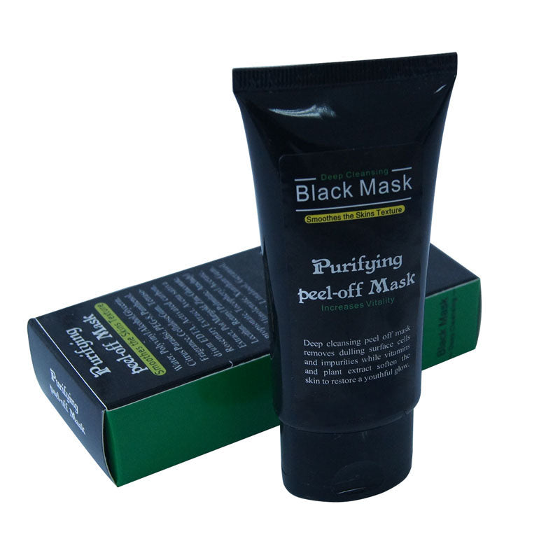 Activated Charcoal Deep Cleansing Blackhead Remover Mask