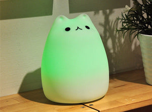Glow Kitty™- Soft Glowing Cat Night Lamp