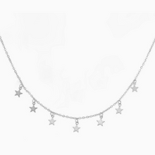 Load image into Gallery viewer, Falling Stars Necklace