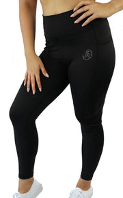 GENESIS POCKET LEGGINGS - BLACK