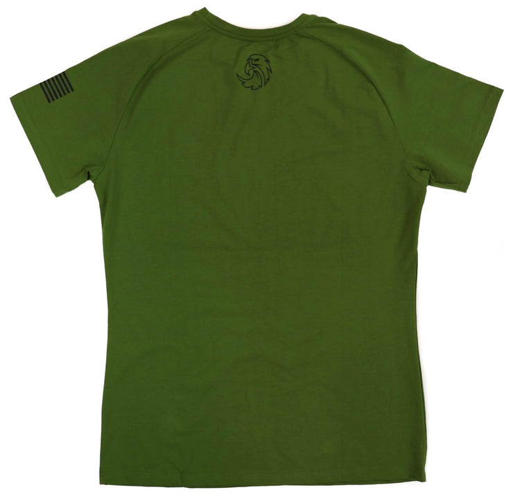 ASPIRE TEE - FOREST GREEN